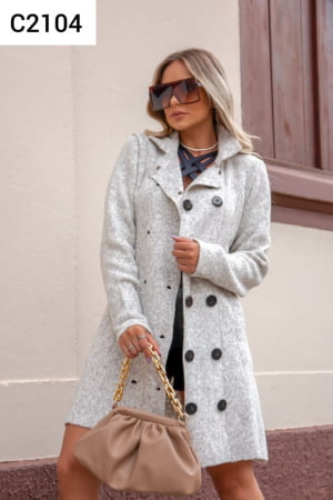 C2104 TRENCH COAT MOUSSE LISO